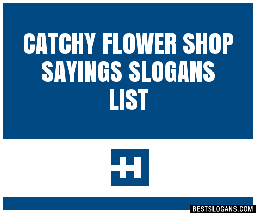 30+ Catchy Flower Shop Sayings Slogans List, Taglines
