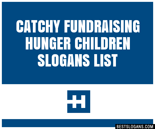 catchy fundraising slogans - Toha
