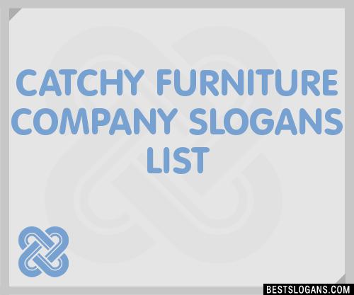 Furniture Company Slogan Ideas