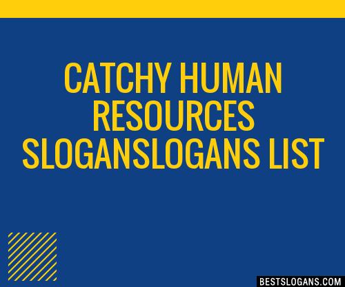 30+ Catchy Human Resources Logans Slogans List, Taglines, Phrases