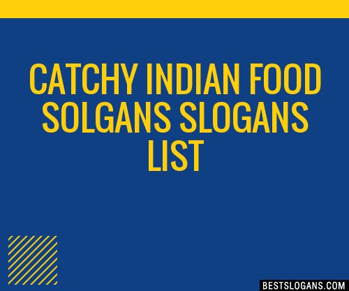 Food Slogans In Hindi: 30+ Catchy Indian Food Solgans Slogans List, Taglines
