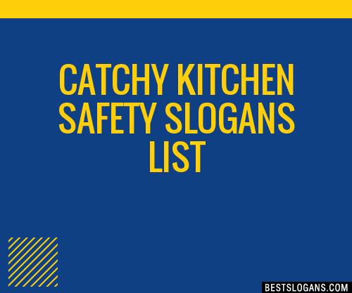 30 catchy kitchen safety slogans list taglines phrases names 2018