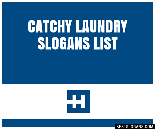 30 Catchy Laundry Slogans List Taglines Phrases Names 2020