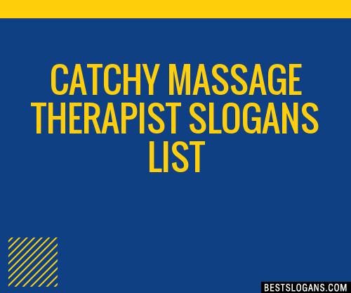 Catchy massage phrases