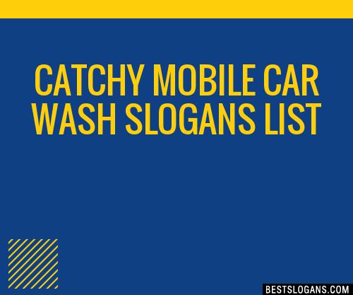 30+ Catchy Mobile Car Wash Slogans List, Taglines, Phrases