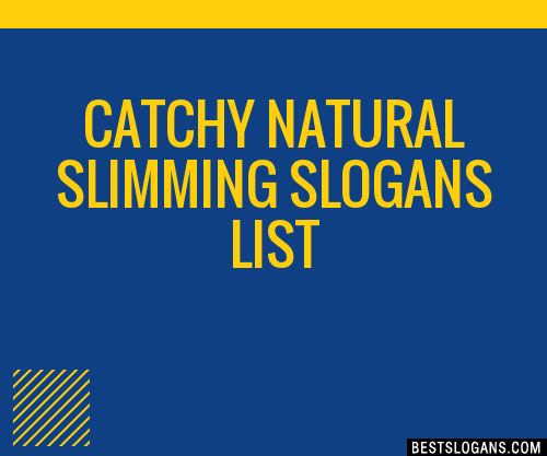 slimming slogan