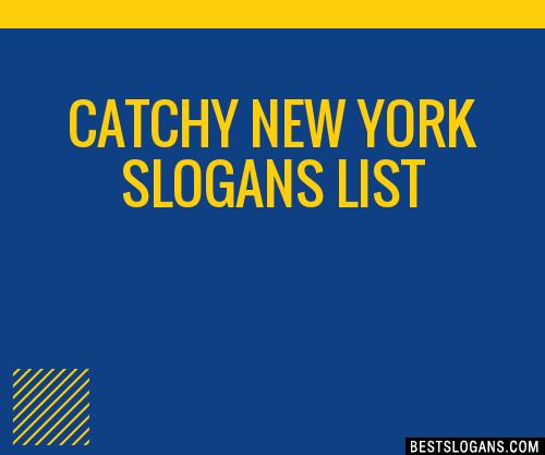 30 catchy new york slogans list taglines phrases. Black Bedroom Furniture Sets. Home Design Ideas