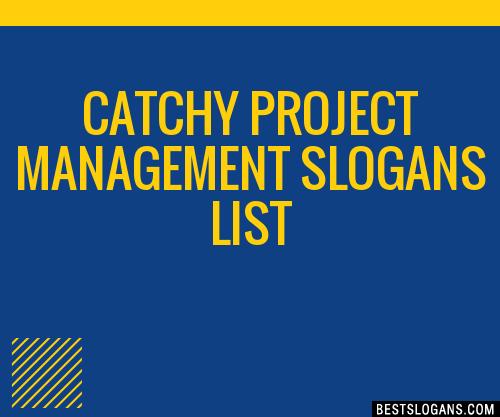 30+ Catchy Project Management Slogans List, Taglines ...