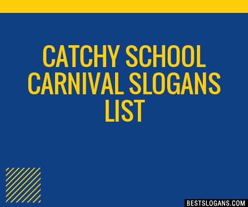 30  catchy school carnival slogans list  taglines  phrases
