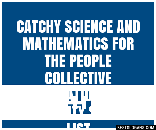 30+ Catchy Science And Mathematics For The People ...