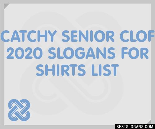 2020 Graduation Slogans.30 Catchy Senior Clof 2020 For Shirts Slogans List