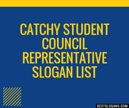 30  catchy student council representative slogans list