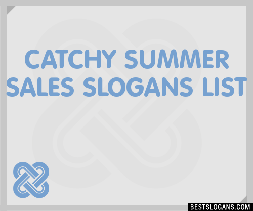 30 Catchy Summer Sales Slogans List Taglines Phrases