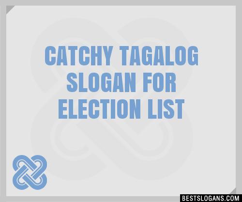 Slogan In Tagalog