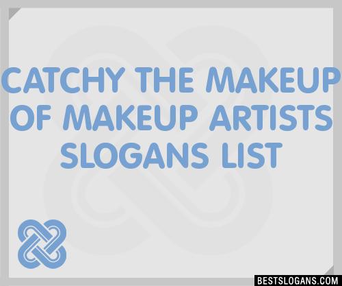 Catchy makeup names