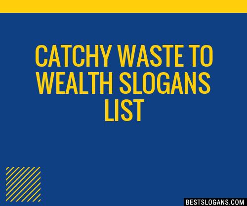 wealth from waste ideas