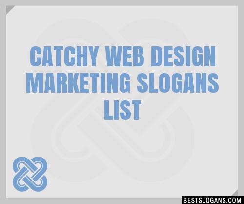 30+ Catchy Web Design Marketing Slogans List, Taglines, Phrases ...